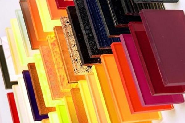 Quy trình sản xuất kính màu ốp