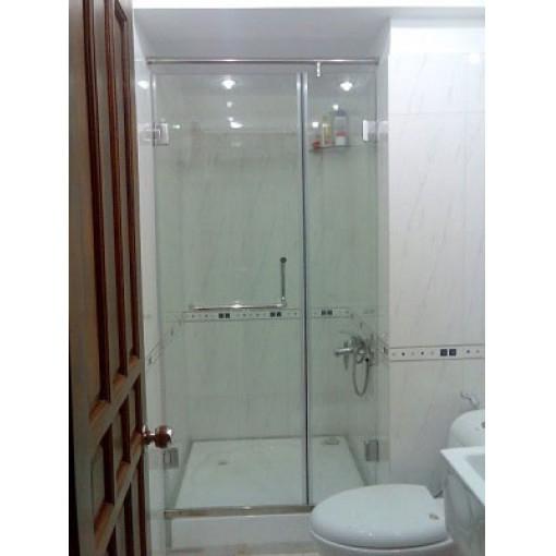 Vách tắm cường lực cửa lùa trượt cao cấp