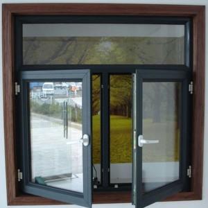 Cửa sổ hai cánh mở quay nhôm Xingfa cao cấp