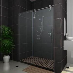 Phòng tắm kính cửa lùa cao cấp