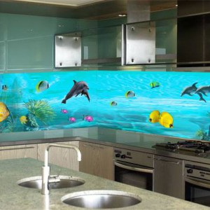 kính tranh 3D ốp bếp cao cấp :KT3D-03