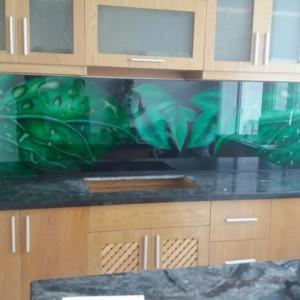 TK3DS01:Tranh kính 3D ốp bếp