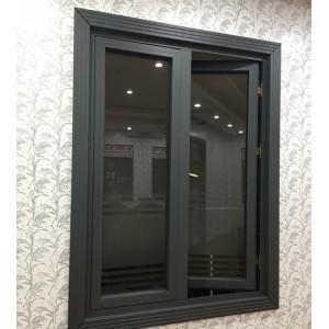 SQS04: Cửa sổ hai cánh mở quay nhôm Xingfa