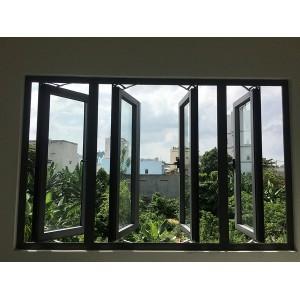 SQS13: Cửa sổ 4 cánh mở quay