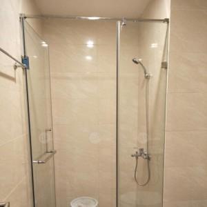 VTK90S01: Vách tắm kính mở quay 2 tấm