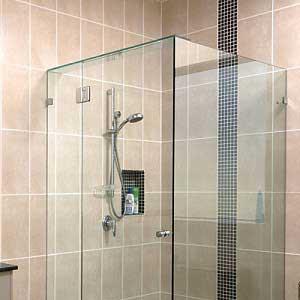 VTK90S03: Vách tắm kính 90 độ