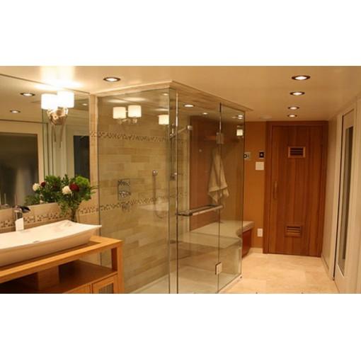 Vách kính tắm đứng mở quay 90 độ: VKTD-10
