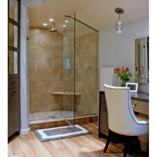 Vách kính tắm đứng mở quay 90 độ: VKTD-09