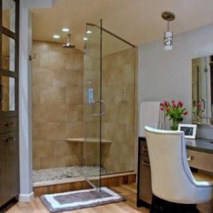 VTK180S01: Vách tắm kính mở quay 2 tấm