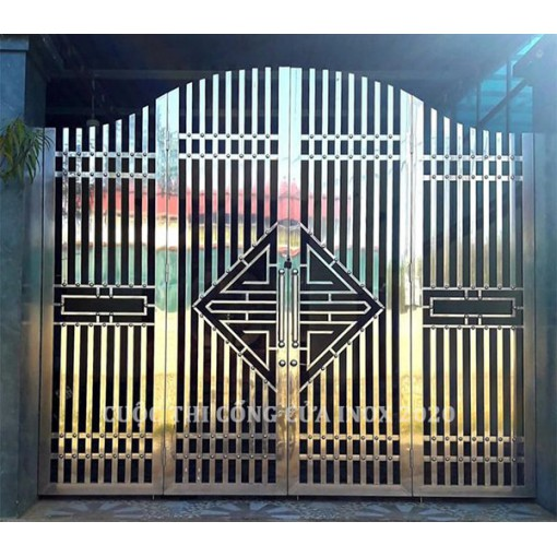 Cổng Inox đẹp: 01