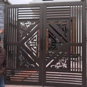 Cổng sắt sơn tĩnh điện đẹp: 06
