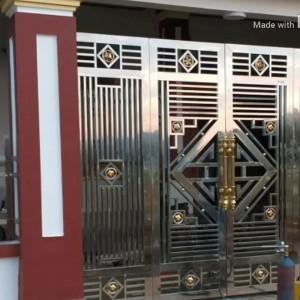 Cổng Inox đẹp: 09